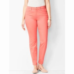 {Talbots} Coral Curvy Ankle Jeans